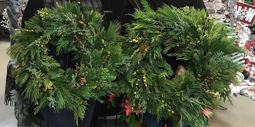 Holiday Wreath Making Party