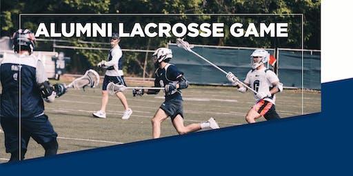 2019 Gulliver Alumni Lacrosse Game