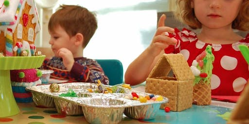 Gingerbread House  Decorating for the littles