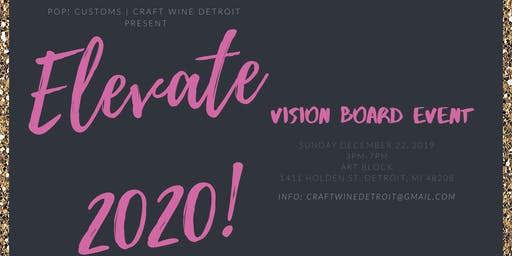 Elevate 2020! Vision Board Party