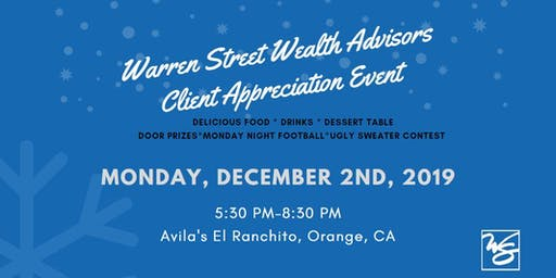 Warren Street Client Appreciation Event