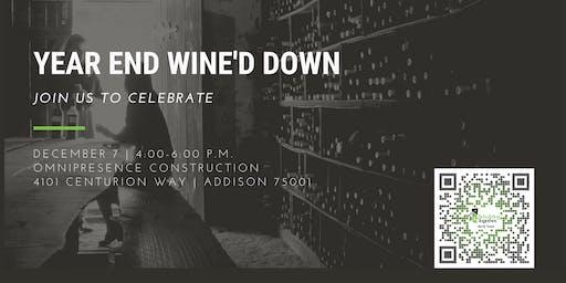 6th Annual Year End Wine'd Down