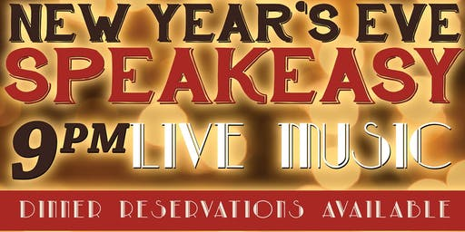 New Year's Eve Speakeasy Party at Back Bay Social!