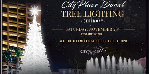 CityPlace Doral Tree Lighting Ceremony