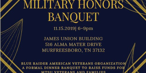 Military Honors Banquet by B.R.A.V.O.
