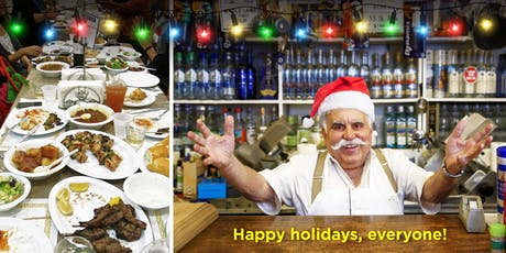 HOLIDAY GATHERING:  Big Fat Greek Dinner at Papa Cristo's! tickets