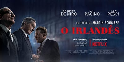 O Irlandês - Cine Arte UFF - Niterói - Terça - Feira  (19/11)