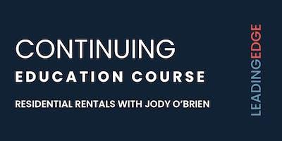 CEU on Rentals with Jody O'Brien