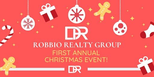 The Robbio Realty Group First Annual Christmas Event!