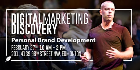Digital Marketing Discovery - Personal Brand tickets