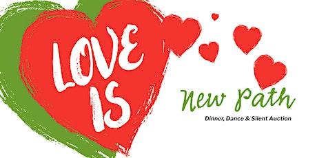 Love is...  a Romantic Valentine  Dinner, Dance & Silent Auction Benefit tickets