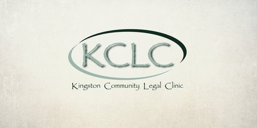 Kingston Community Legal Clinic's Annual General Meeting 2019