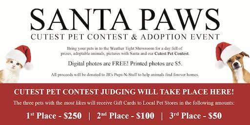 Santa Paws Cutest Pet Contest & Adoption Event