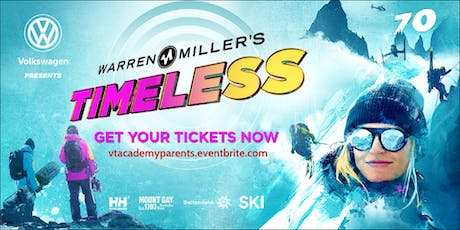 Volkswagen presents Warren Miller - Timeless at Vermont Academy tickets