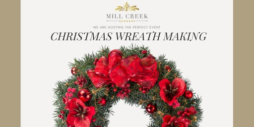 Christmas Wreath Making Event