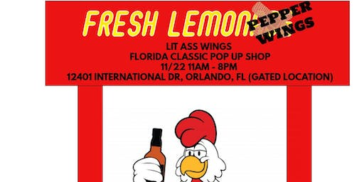 Lit Ass Wings Florida Classic Pop Up
