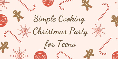 Simple Cooking Christmas Party tickets