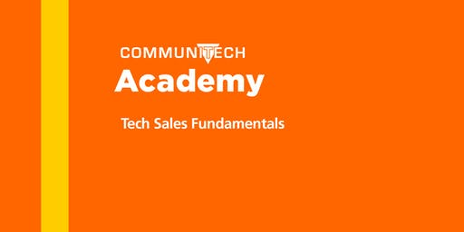 Communitech Academy: Tech Sales Fundamentals - Winter 2020