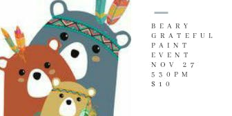 Beary Grateful