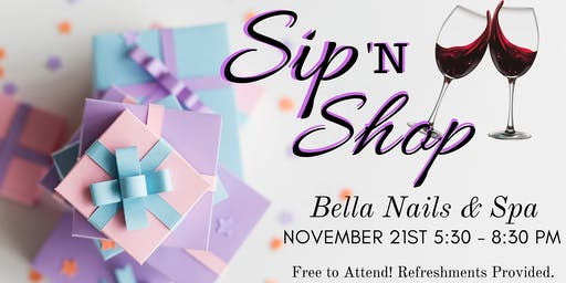 Ladies Night: Sip & Shop