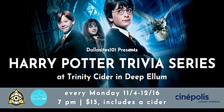 Harry Potter Trivia Series tickets
