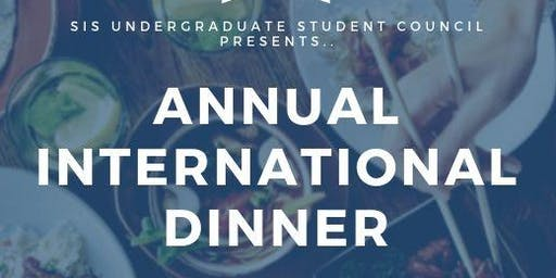 2019 Annual International Dinner