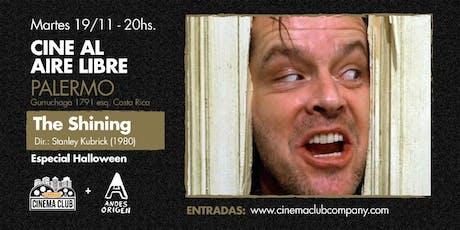 Cine al Aire Libre: EL RESPLANDOR (1980) -  Martes 19/11 entradas