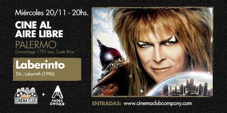 Cine al Aire Libre: LABERINTO (1986) -  Miercoles 20/11 entradas