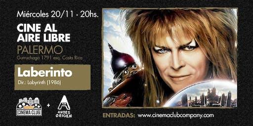 Cine al Aire Libre: LABERINTO (1986) -  Miercoles 20/11