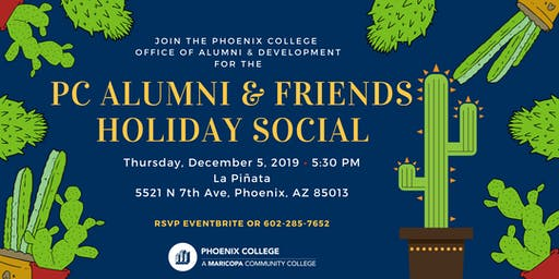 PC Alumni & Friends Holiday Social