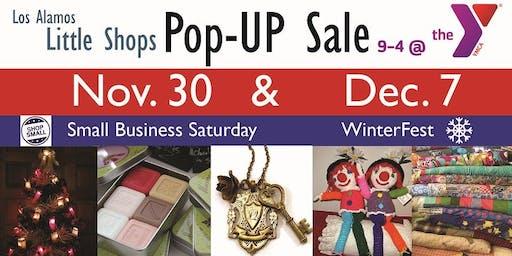 """Los Alamos """"Little Shops"""" Pop-UP Sales event, 11/30 & 12/7"""