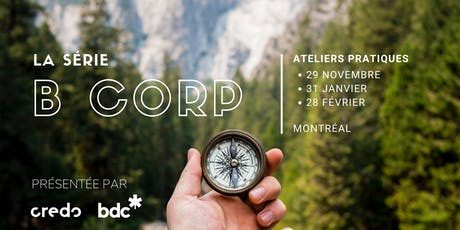 Atelier B Corp - Mesurer ce qui compte (31 janvier) tickets