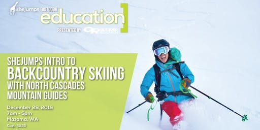 WA SheJumps Intro to Backcountry Skiing with North Cascades Mountain Guides