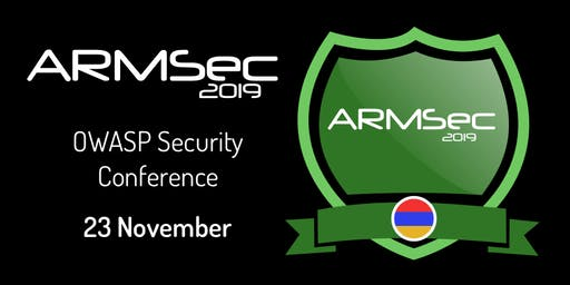 ArmSec 2019 Security Conference