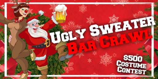 Ugly Sweater Bar Crawl - St Louis