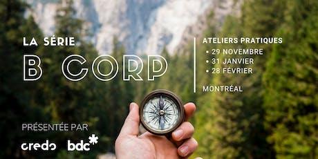 Atelier B Corp - Mesurer ce qui compte (28  février) tickets