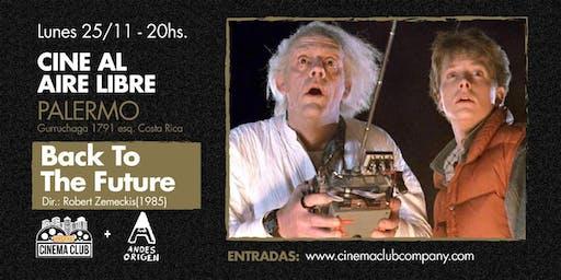 Cine al Aire Libre: VOLVER AL FUTURO (1985) -  Lunes 25/11