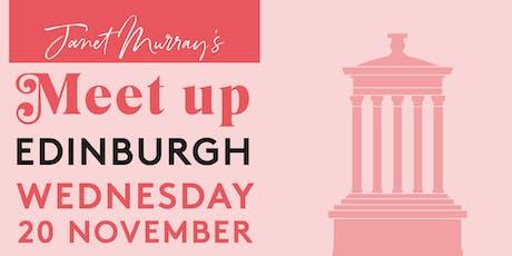 Janet Murray's Edinburgh Meet Up tickets