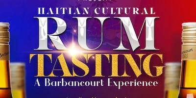 Haitian Cultural Rum Tasting