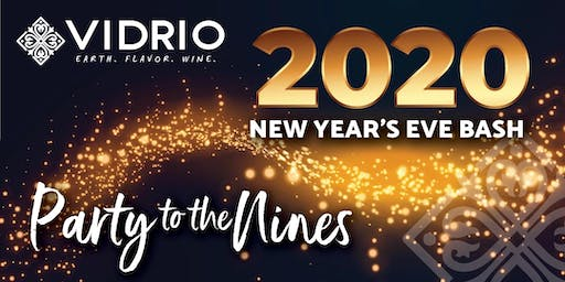 Vidrio's 2020 Party to the Nines New Year's Eve Bash