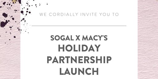 SoGal x Macy's: Holiday Partnership Launch