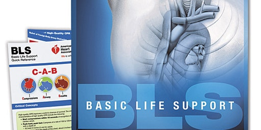 AHA BLS Renewal Course April 8, 2020 (The New 2015 Provider Manual is included!) from 2 PM to 4 PM at Saving American Hearts, Inc. 6165 Lehman Drive Suite 202 Colorado Springs, Colorado 80918.