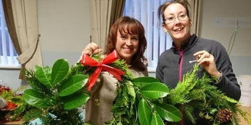 Christmas Willow Wreath Making (Adults Only)