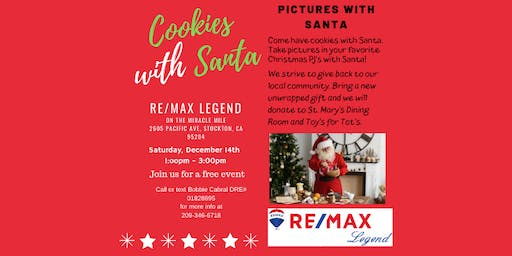Cookies and Pictures with Santa