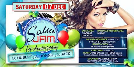 Salsa Jam 1st Anniversary tickets