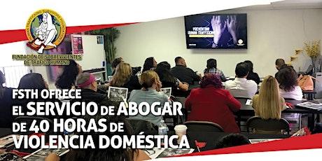 Capacitación de Vocera de Violencia Domestica de 40-Horas - Español  tickets