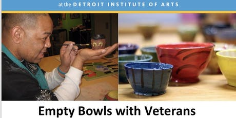 Empty Bowls Detroit xDetroit Institute of Arts  Bowl Painting for Veterans tickets
