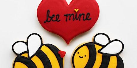 Valentine cookie fun tickets