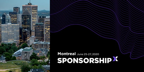 SponsorshipX Montreal 2020 tickets