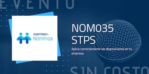 Conferencia magistral CONTPAQi Nóminas NOM035 STPS